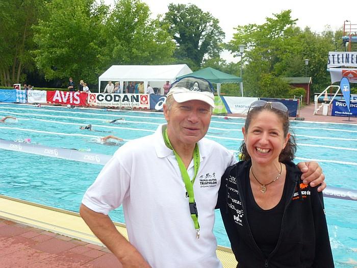 Wolfgang Kulow und Iris Hadbawnik