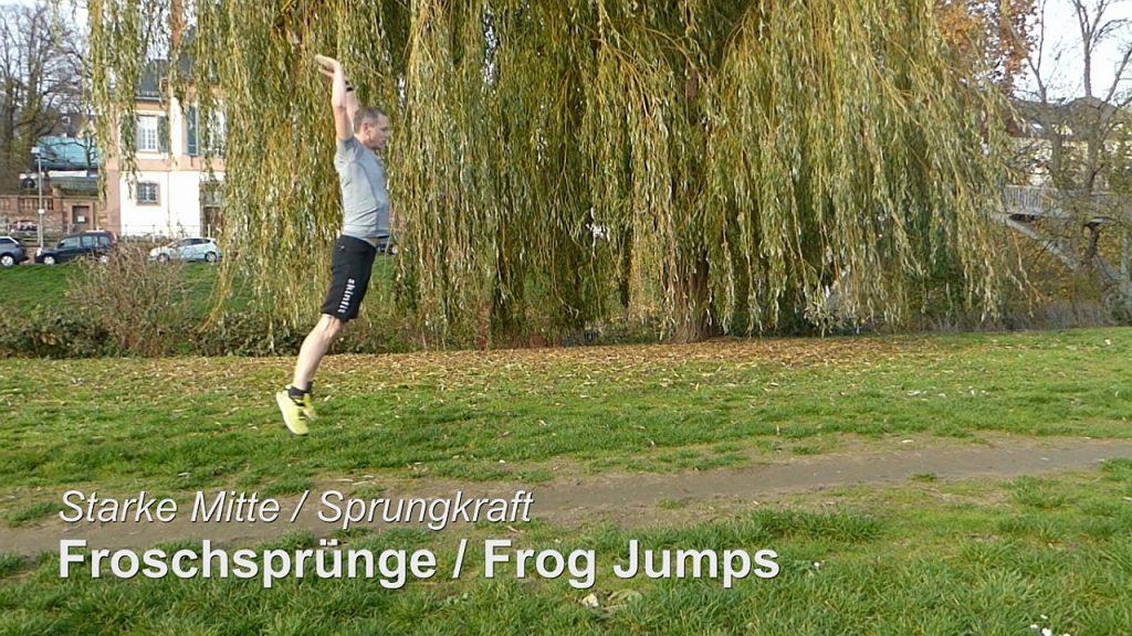 Frog Jumps: Laufbuch Iris Hadbawnik