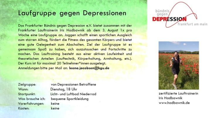 Iris Hadbawnik - Anfänger-Lauftreff